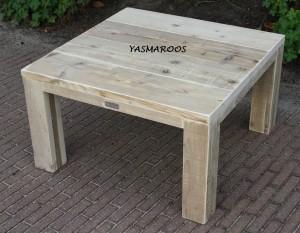 Yasmaroos salontafel 80x80x45