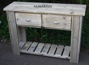 yasmaroos sidetable onderplateau