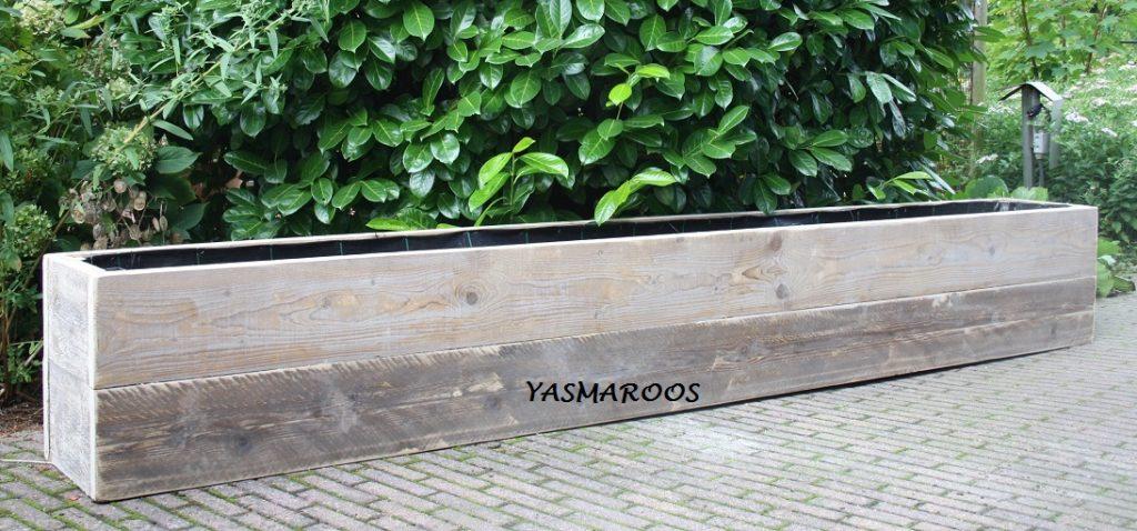 tuin border plantenbak bloembak
